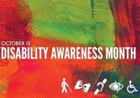 Photo of Disability Awareness Month