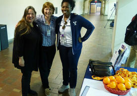 Jill Savarese, Melanie Norton and Nathalie Carter at the DAY table